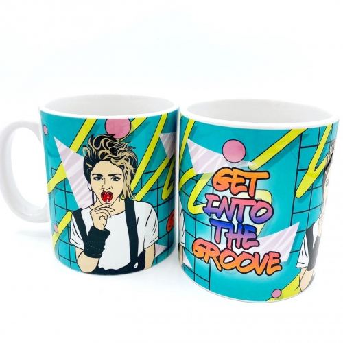 Get into the Groove - unique mug by Bite Your Granny