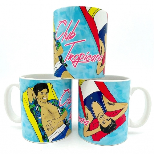 ClubTropicana - unique mug by Bite Your Granny