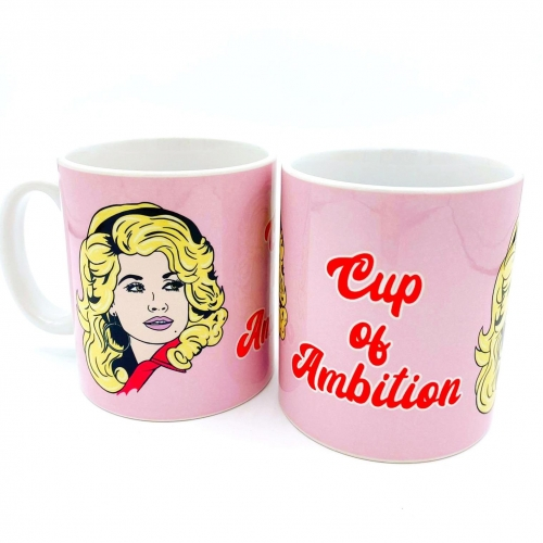 What would Dolly do? - unique mug by Bite Your Granny