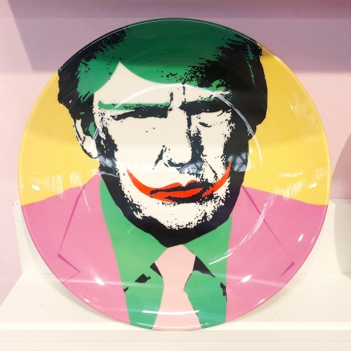 Donald - personalised dinner plate by Wallace Elizabeth