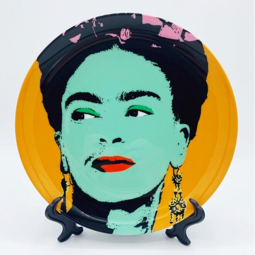 Frida - personalised dinner plate by Wallace Elizabeth