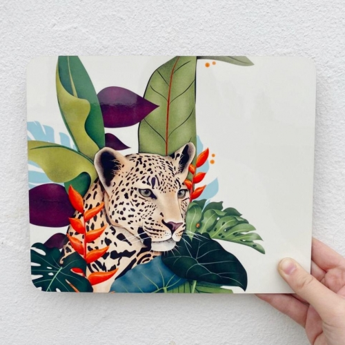 The Jaguar - photo placemat by Fatpings_studio