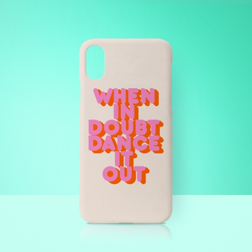WHEN IN DOUBT DANCE IT OUT - unique phone case by Ania Wieclaw
