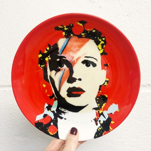 The Prettiest Star - personalised dinner plate by RoboticEwe