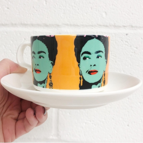 Frida - personalised cup and saucer by Wallace Elizabeth