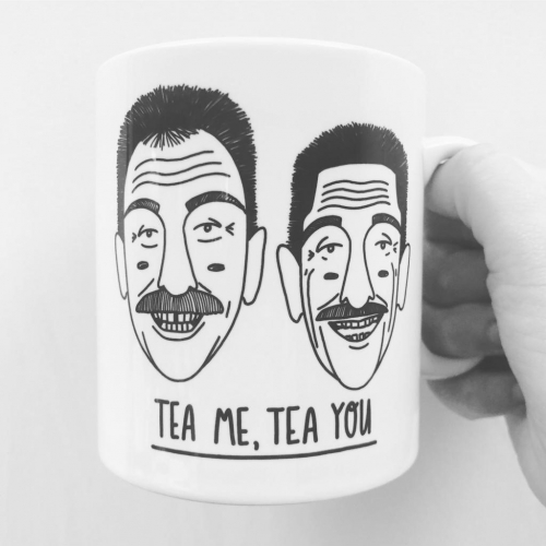 Tea Me, Tea You - unique mug by Katie Ruby Miller