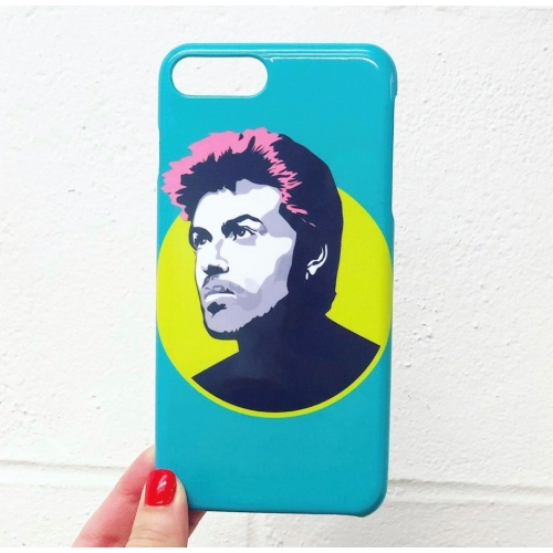 George Michael - unique phone case by SABI KOZ