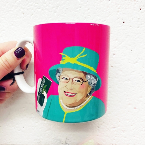 Royal Family - unique mug by SABI KOZ