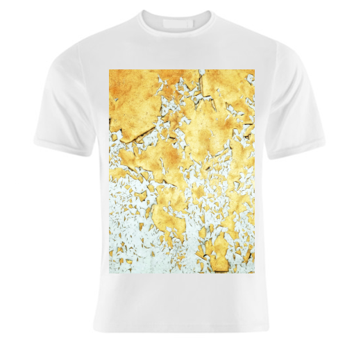 Gold - unique t shirt by Uma Prabhakar Gokhale