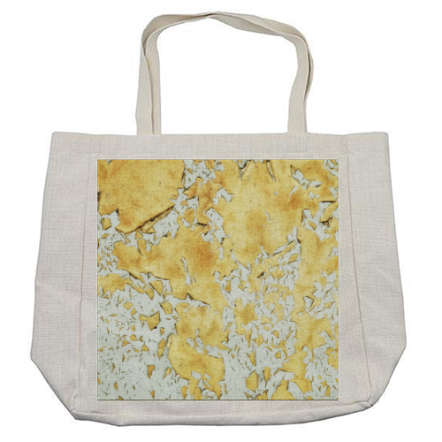 Gold - cool beach bag by Uma Prabhakar Gokhale