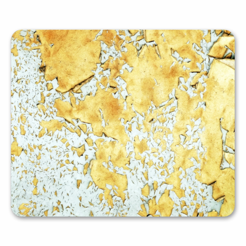 Gold - personalised mouse mat by Uma Prabhakar Gokhale