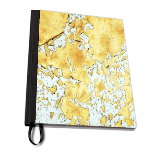 Gold - designed notebook by Uma Prabhakar Gokhale