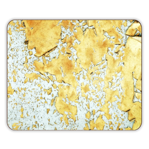 Gold - photo placemat by Uma Prabhakar Gokhale
