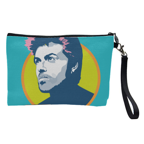 George Michael - pretty makeup bag by SABI KOZ