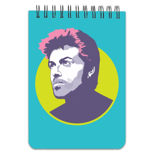 George Michael - designed notebook by SABI KOZ