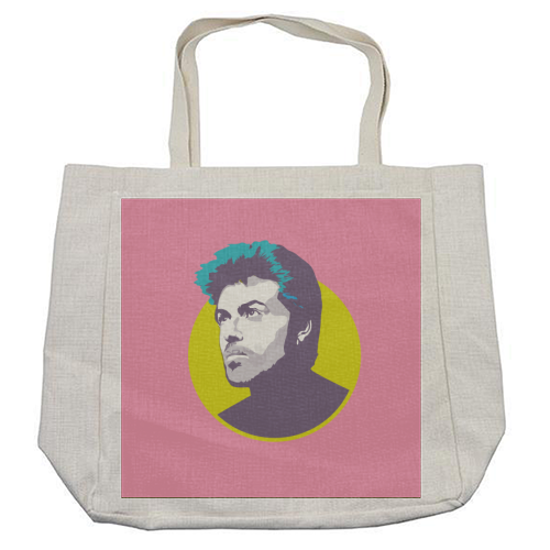 George Michael - cool beach bag by SABI KOZ