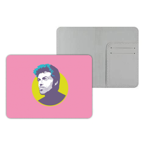 George Michael - designer passport cover by SABI KOZ