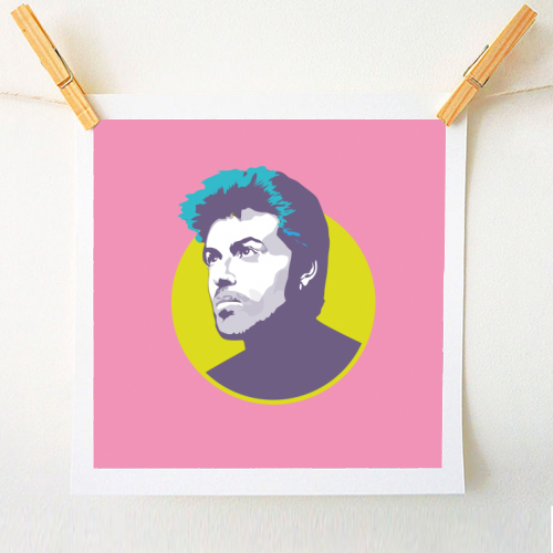 George Michael - original print by SABI KOZ