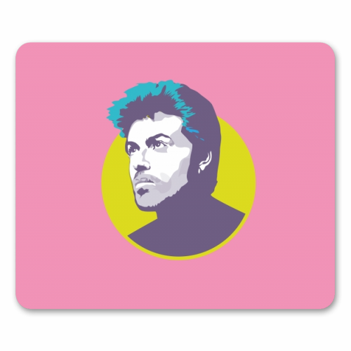 George Michael - personalised mouse mat by SABI KOZ