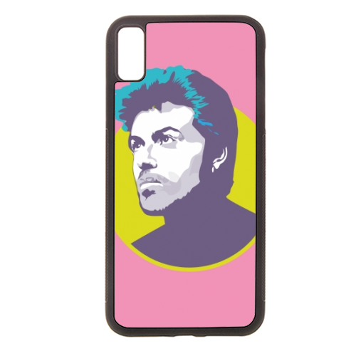 George Michael - Rubber phone case by SABI KOZ