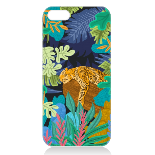 Sleeping Panther - unique phone case by Uma Prabhakar Gokhale