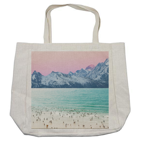 The Island - cool beach bag by Uma Prabhakar Gokhale