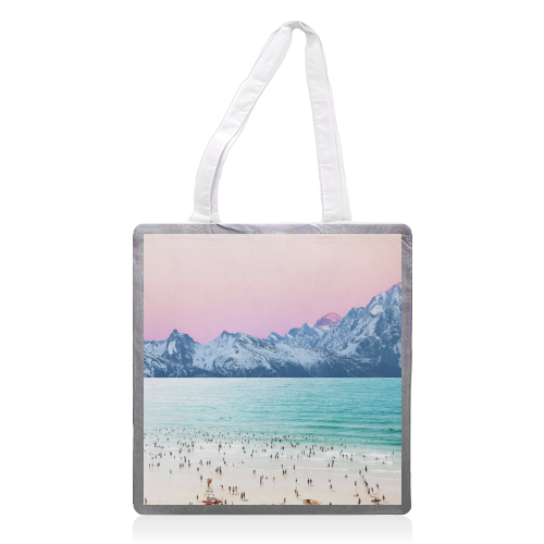 The Island - printed tote bag by Uma Prabhakar Gokhale