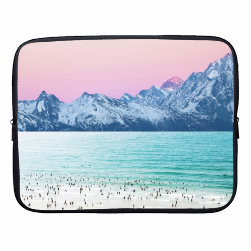 The Island - designer laptop sleeve by Uma Prabhakar Gokhale