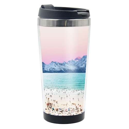 The Island - travel water bottle by Uma Prabhakar Gokhale