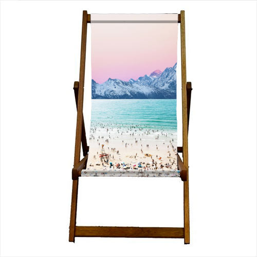 The Island - canvas deck chair by Uma Prabhakar Gokhale