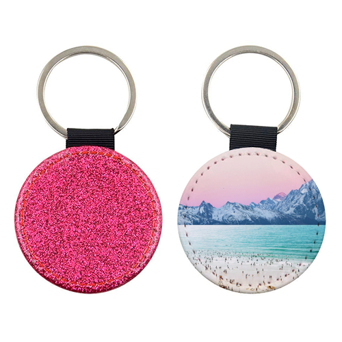 The Island - personalised leather keyring by Uma Prabhakar Gokhale