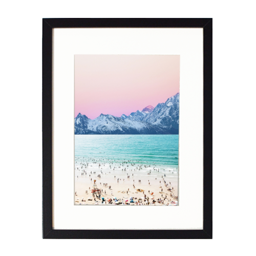 The Island - printed framed picture by Uma Prabhakar Gokhale