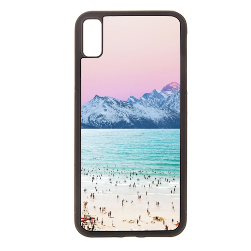 The Island - Rubber phone case by Uma Prabhakar Gokhale