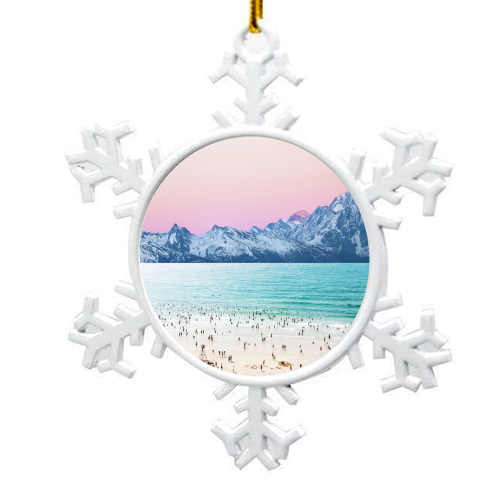 The Island - snowflake decoration by Uma Prabhakar Gokhale