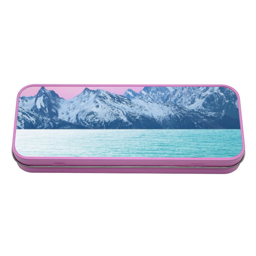 The Island - tin pencil case by Uma Prabhakar Gokhale