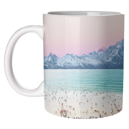 The Island - unique mug by Uma Prabhakar Gokhale