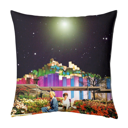 The Good Times - designed cushion by taudalpoi