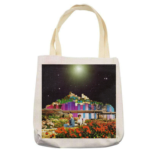 The Good Times - printed tote bag by taudalpoi