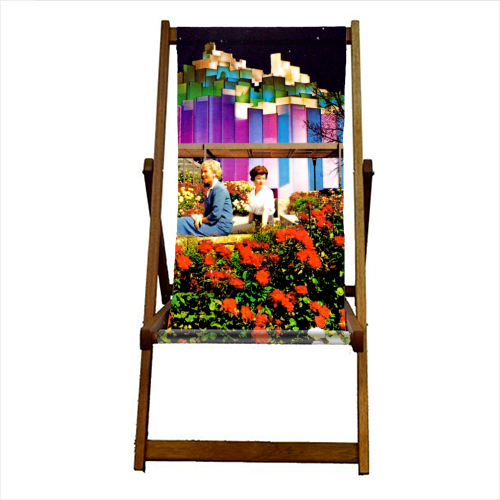 The Good Times - canvas deck chair by taudalpoi