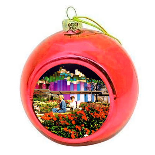 The Good Times - colourful christmas bauble by taudalpoi