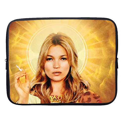 FASHION ICON - designer laptop sleeve by Wallace Elizabeth