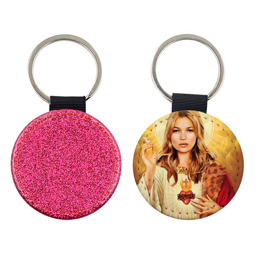FASHION ICON - personalised picture keyring by Wallace Elizabeth