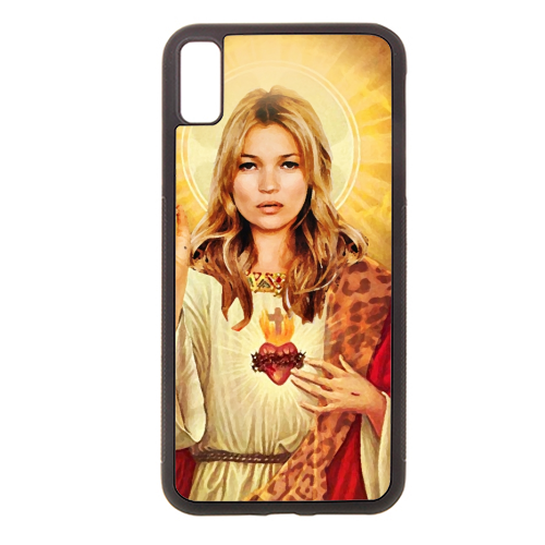 FASHION ICON - Rubber phone case by Wallace Elizabeth