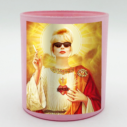 Patron Saint Of Fab - Patsy - Candle by Wallace Elizabeth