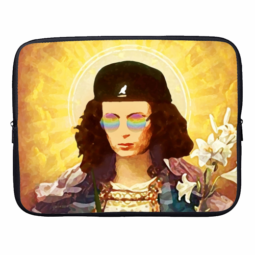 Patron Saint Of Fab - Edina - designer laptop sleeve by Wallace Elizabeth