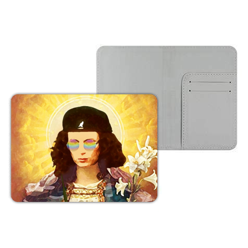 Patron Saint Of Fab - Edina - designer passport cover by Wallace Elizabeth