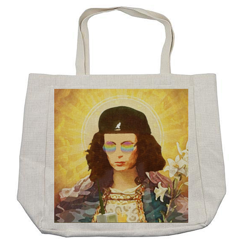 Patron Saint Of Fab - Edina - cool beach bag by Wallace Elizabeth