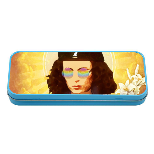 Patron Saint Of Fab - Edina - tin pencil case by Wallace Elizabeth