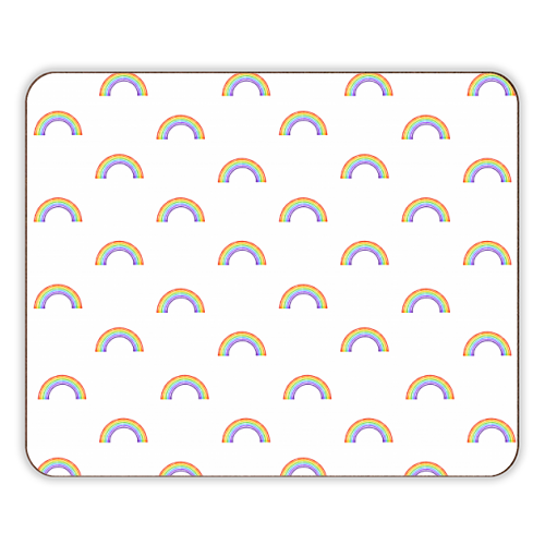 Rainbow Pattern - photo placemat by Adam Regester