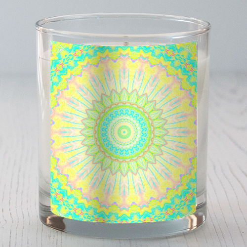Summer Mandala - Candle by Kaleiope Studio
